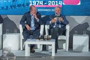 40 Jahre Puma & ÖFB - K47 - Di 11.11.2014 - Matthias B�UMER (General Manager PUMA DACH), Helmut Fischer (Pu51
