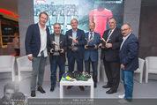40 Jahre Puma & ÖFB - K47 - Di 11.11.2014 - Matthias B�UMER (General Manager PUMA DACH), Hans HUBER, Herber58