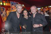 Premiere - Palazzo - Mi 12.11.2014 - Uwe KR�GER, Reinhard NOWAK mit Ehefrau Arzu49