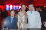 Premiere - Palazzo - Mi 12.11.2014 - Maya HAKVOORT mit Sohn Joshua, Toni M�RWALD82