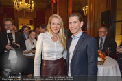 Torggelen - Palais Harrach - Do 13.11.2014 - Eva DICHAND, Sebastian KURZ30