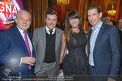 Torggelen - Palais Harrach - Do 13.11.2014 - Rene BENKO mit Ehefrau Natalie, Wolfgang ROSAM, Sebastian KURZ55