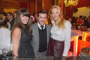 Torggelen - Palais Harrach - Do 13.11.2014 - Rene BENKO mit Ehefrau Natalie, Eva DICHAND60