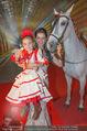 Ronald McDonald Kinderhilfe Gala - Marx Halle - Fr 14.11.2014 - Sonja KLIMA mit Pferd und Kind Yoana8