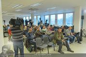 ÖFB Pressekonferenz - Ernst Happel Stadion - Mo 17.11.2014 - Journalisten11