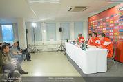 ÖFB Pressekonferenz - Ernst Happel Stadion - Mo 17.11.2014 - Journalisten, Podium12