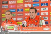 ÖFB Pressekonferenz - Ernst Happel Stadion - Mo 17.11.2014 - Zlatko JUNUZOVIC, Christian FUCHS4