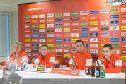 ÖFB Pressekonferenz - Ernst Happel Stadion - Mo 17.11.2014 - Marcel KOLLER, Zlatko JUNUZOVIC, Christian FUCHS7