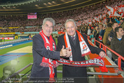 Österreich - Brasilien (VIP) - Ernst Happelstadion - Di 18.11.2014 - Heinz FISCHER, Leo WINDTNER1