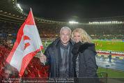 Österreich - Brasilien (VIP) - Ernst Happelstadion - Di 18.11.2014 - Toni POLSTER mit Birgit11