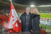 Österreich - Brasilien (VIP) - Ernst Happelstadion - Di 18.11.2014 - Toni POLSTER mit Birgit12