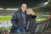 Österreich - Brasilien (VIP) - Ernst Happelstadion - Di 18.11.2014 - Toni POLSTER mit Birgit13