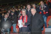 Österreich - Brasilien (VIP) - Ernst Happelstadion - Di 18.11.2014 - Heinz FISCHER, Leo WINDTNER16