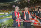 Österreich - Brasilien (VIP) - Ernst Happelstadion - Di 18.11.2014 - Heinz FISCHER, Leo WINDTNER17