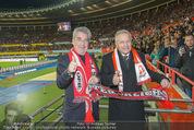 Österreich - Brasilien (VIP) - Ernst Happelstadion - Di 18.11.2014 - Heinz FISCHER, Leo WINDTNER18