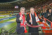 Österreich - Brasilien (VIP) - Ernst Happelstadion - Di 18.11.2014 - Heinz FISCHER, Leo WINDTNER19
