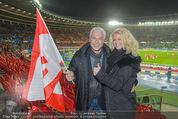 Österreich - Brasilien (VIP) - Ernst Happelstadion - Di 18.11.2014 - Toni POLSTER mit Birgit2