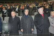 Österreich - Brasilien (VIP) - Ernst Happelstadion - Di 18.11.2014 - Michael H�UPL, Heinz FISCHER, Leo WINDTNER25