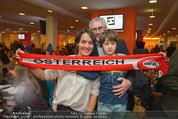 Österreich - Brasilien (VIP) - Ernst Happelstadion - Di 18.11.2014 - Eva P�LZL, Pius STROBL mit Sohn Julius31