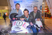 Snow Mobile PK - The Mall Wien Mitte - Mi 19.11.2014 - Tom WALEK, Gerhard BRADLER, Peter MITTERER13