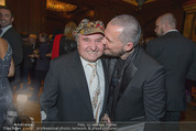 Haute Couture Award - Park Hyatt Hotel - Mi 26.11.2014 - Pepino TEUSCHLER, Wolfgang REICHL10