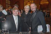 Haute Couture Award - Park Hyatt Hotel - Mi 26.11.2014 - Pepino TEUSCHLER, Wolfgang REICHL, Lisbeth BISCHOF13