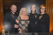 Haute Couture Award - Park Hyatt Hotel - Mi 26.11.2014 - Wolfgang REICHL, Eveline HALL, Marika LICHTER, Nicole BEUTLER65