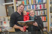 Bernie Rieder Buchpräsentation - Morawa - Do 27.11.2014 - Bernie RIEDER mit Sohn Valentin und Oma Steffi (Stefanie) RIEDER10