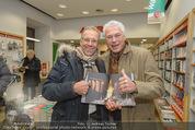 Bernie Rieder Buchpräsentation - Morawa - Do 27.11.2014 - Gerhard ZADROBILEK, Toni POLSTER14