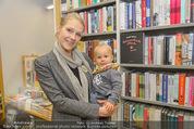 Bernie Rieder Buchpräsentation - Morawa - Do 27.11.2014 - Sandra RIEDER und Sohn Valentin15
