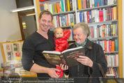 Bernie Rieder Buchpräsentation - Morawa - Do 27.11.2014 - Bernie RIEDER mit Sohn Valentin und Oma Steffi (Stefanie) RIEDER9