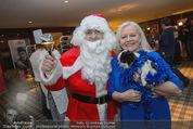 Promi Keksbacken - Parkhotel Schönbrunn - Di 02.12.2014 - Brigitte KREN mit Hund Chico, Weihnachtsmann SantaClaus21