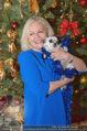 Promi Keksbacken - Parkhotel Schönbrunn - Di 02.12.2014 - Brigitte KREN mit Hund Chico23