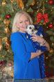 Promi Keksbacken - Parkhotel Schönbrunn - Di 02.12.2014 - Brigitte KREN mit Hund Chico24
