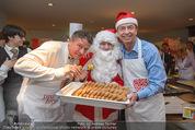 Promi Keksbacken - Parkhotel Schönbrunn - Di 02.12.2014 - Peter MOIZI, Heribert KASPER, Weihnachtsmann SantaClaus25