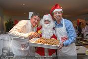 Promi Keksbacken - Parkhotel Schönbrunn - Di 02.12.2014 - Peter MOIZI, Heribert KASPER, Weihnachtsmann SantaClaus26