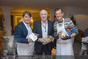 Promi Keksbacken - Parkhotel Schönbrunn - Di 02.12.2014 - Gerhard SCHWAB, Karl PLOBERGER, Christian SPATZEK30