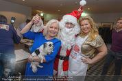 Promi Keksbacken - Parkhotel Schönbrunn - Di 02.12.2014 - Brigitte KREN, Susanna HIRSCHLER mit Weihnachtsmann44