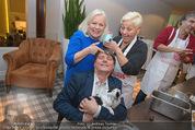 Promi Keksbacken - Parkhotel Schönbrunn - Di 02.12.2014 - Brigitte KREN, Christian SPATZEK, Jazz GITTI58