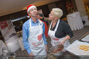 Promi Keksbacken - Parkhotel Schönbrunn - Di 02.12.2014 - Jazz GITTI, Heribert KASPER6