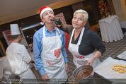 Promi Keksbacken - Parkhotel Schönbrunn - Di 02.12.2014 - Jazz GITTI, Heribert KASPER7