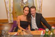 ZuKi Charity - Amterl - Do 04.12.2014 - Bruno EYRON mit Freundin Friederike DIRSCHERL130