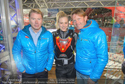 Snow Mobile Tag 2 - Saalbach - Sa 06.12.2014 - Mika H�KKINEN, Andy WERNIG, Larissa MAROLT149