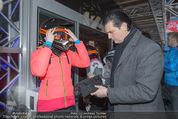 Snow Mobile Tag 2 - Saalbach - Sa 06.12.2014 - Larissa MAROLT mit Vater Heinz Anton87