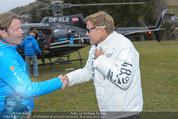Snow Mobile Tag 2 - Saalbach - Sa 06.12.2014 - Dieter BOHLEN, Andy WERNIG (Ankunft mit Hubschrauber)98
