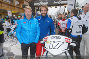 Snow Mobile Tag 3 - Saalbach - So 07.12.2014 - Mika H�KKINEN, Jean-Eric VERGNE43