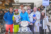 Snow Mobile Tag 3 - Saalbach - So 07.12.2014 - Mika H�KKINEN, Jean-Eric VERGNE51