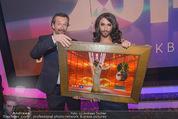 ORF Jahresrückblick Aufzeichnung - ORF Zentrum - Di 09.12.2014 - Conchita WURST, Robert KRATKY19
