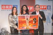 ORF Jahresrückblick Aufzeichnung - ORF Zentrum - Di 09.12.2014 - Conchita WURST, Alexander WRABETZ27