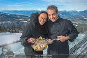 Stuhleck VIP-Opening - Spital am Semmering - Fr 12.12.2014 - Sonja KIRCHBERGER, Robert LETZ1